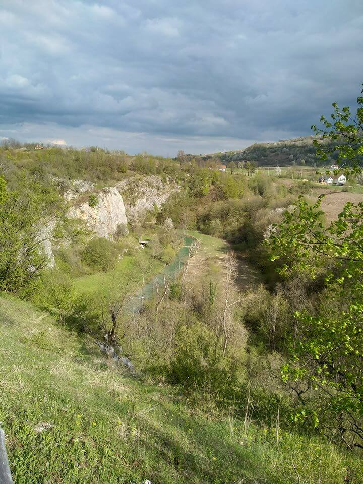 rivière korana zipline