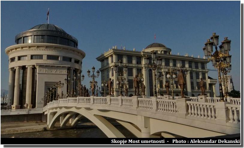 Visiter Skopje ; capitale multiethnique aux facettes plurielles en Macédoine (Fyrom) 4