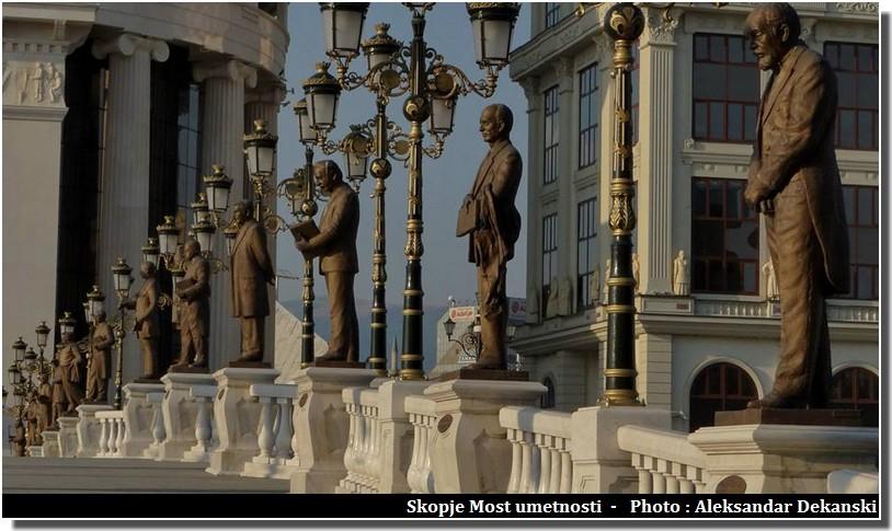 Visiter Skopje ; capitale multiethnique aux facettes plurielles en Macédoine (Fyrom) 3
