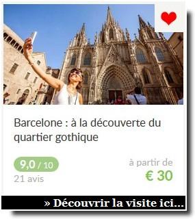visite guidée barcelone quartier gothique