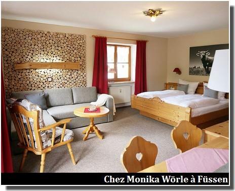 Chalet chez Monika Woerle Fuessen
