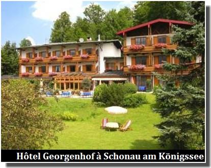 Hôtel Georgenhof schonau am konigssee