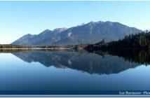 Lac Barmsee en Baviere