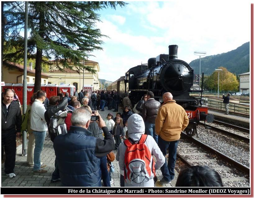 Marradi Train a vapeur treno delle castagne