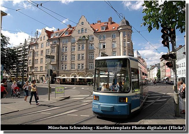 Munich Schwabing Kurfurstenplatz