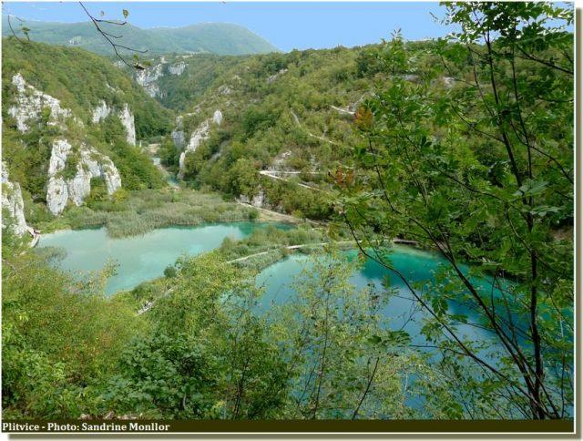 Panorama lacs supérieurs de Plitvice