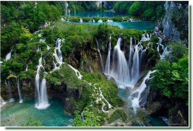 cascades lacs de Plitvice