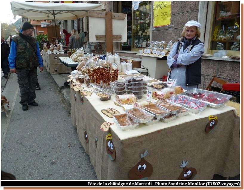 fete de la châtaigne de marradi specialités de gâteaux aux marrons