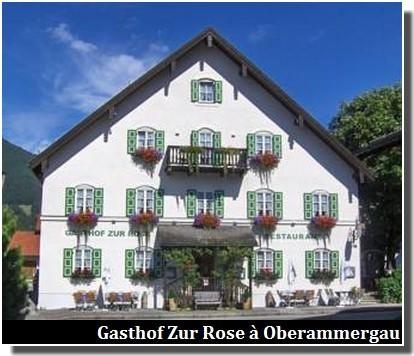 gasthof zur rose oberammergau