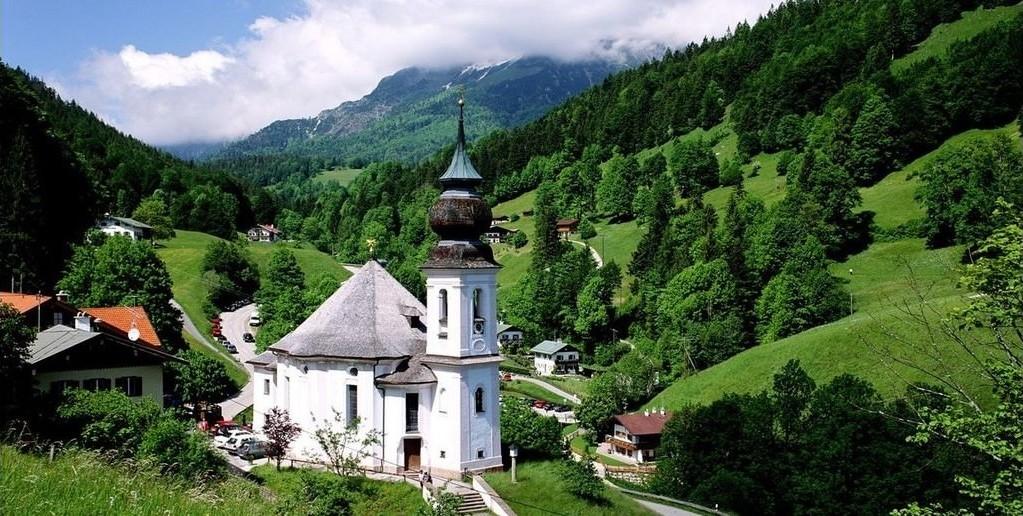 Découvrir la Bavière maria gern dans la région de Berchtesgaden