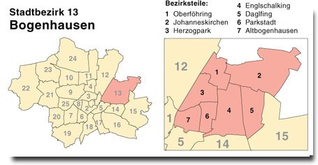plan munich Bogenhausen
