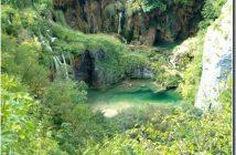 premieres chutes de Plitvice