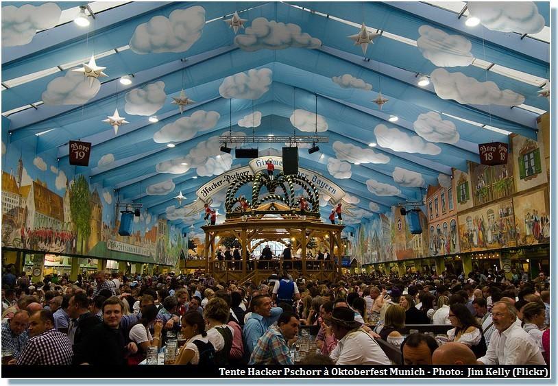 tente Oktoberfest Munich Hacker Pschorr