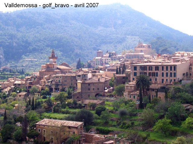 Le villagede Valldemossa à Majorque