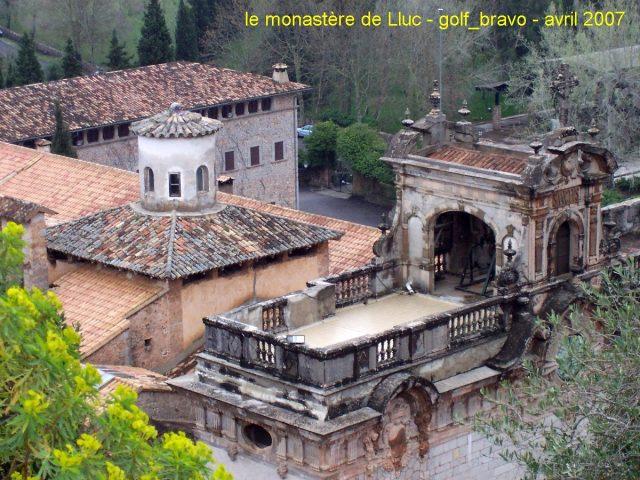 Le monastère de Lluc à Majorque