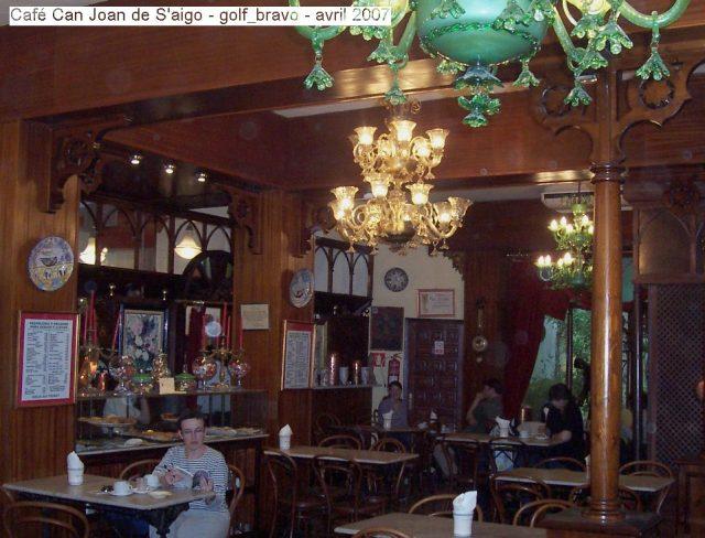 Café Can Joan de S'aigo à Palma de Majorque