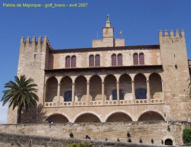 L'Alcazar de Palma de Majorque