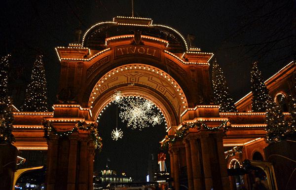 Copenhague Parc Tivoli Entrée