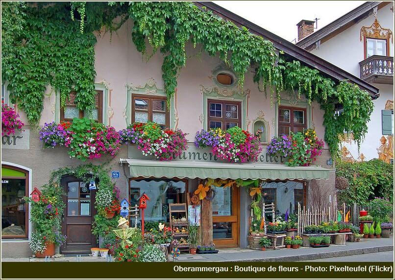oberammergau boutique de fleurs
