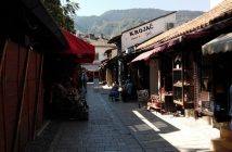 Ruelle quartier turc de sarajevo