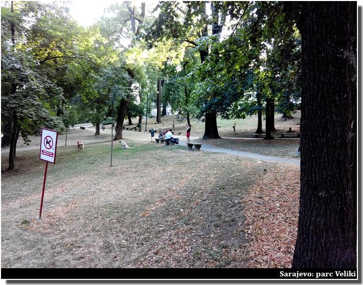 Sarajevo parc veliki
