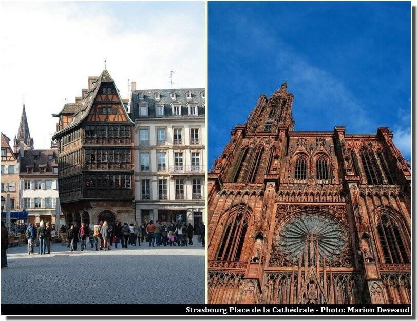 Strasbourg Place de la Cathédrale