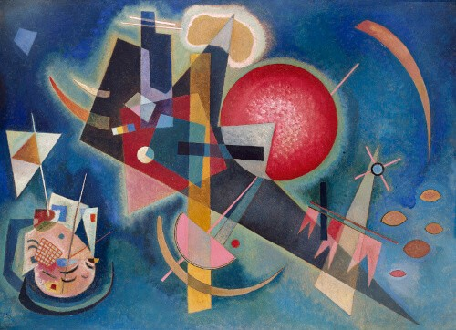 Wassily Kandinsky, Im Blau, 1925 Kunstsammlung Nordrhein-Westfalen Düsseldorf, Photo: Walter Klein