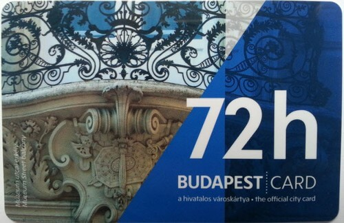 budapest card 72 heures