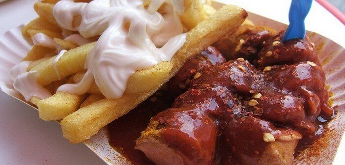 currywurst saucisse berlinoise