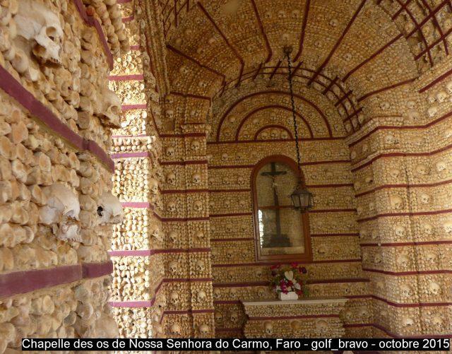 Algarve: chapelle des os à Faro