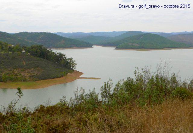 Algarve: le barrage de Bravura