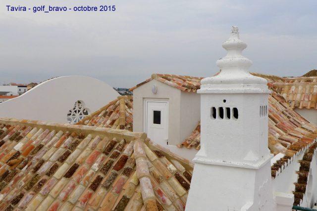 Algarve: les toits de Tavira