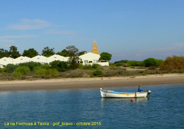 Algarve: la ria Formosa près de Tavira