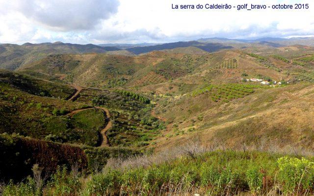 Algarve: dans la Serra do Caldeirão