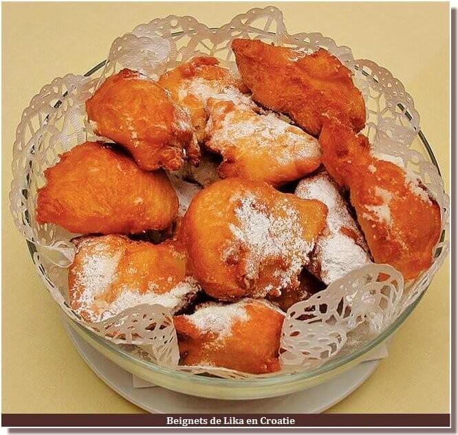 Beignets de Lika cuisine croate
