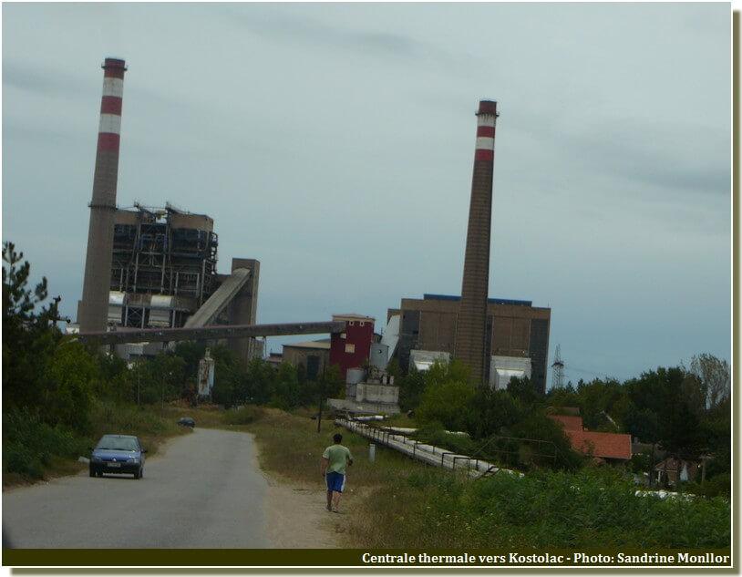 Centrale thermique de Kostolac en serbie