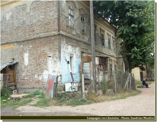 Maison dans la campagne de Kostolac