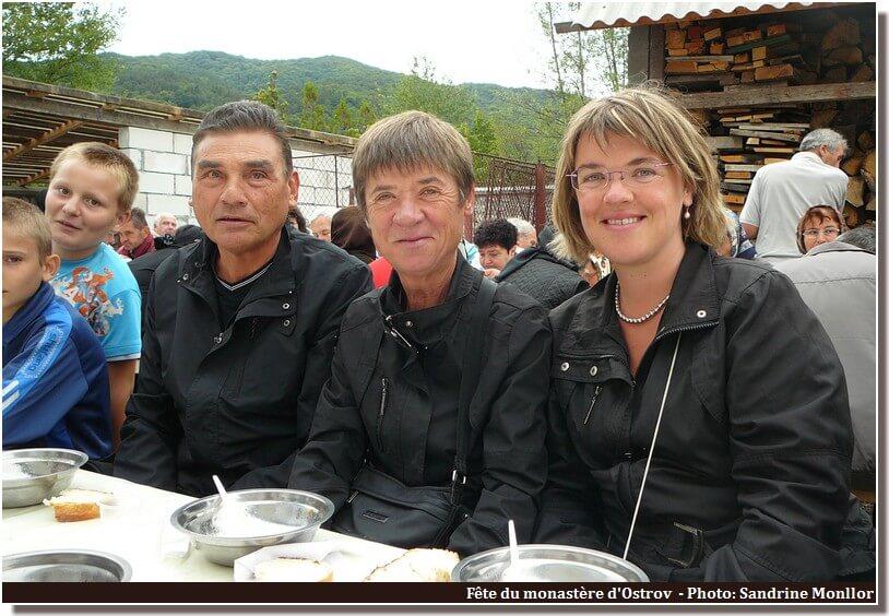 Ostrov repas de la fête du monastère