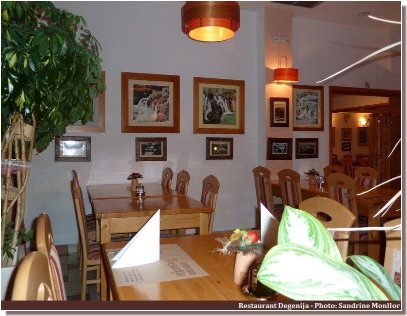 Restaurant Degenija à Plitvice