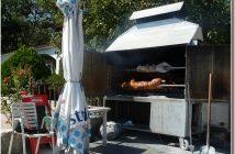 agneau croate cuisson a la broche sous la cloche