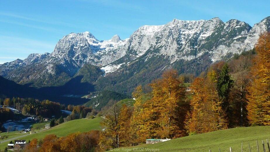 mont Watzmann en Bavière dans la région de Berchtesgaden