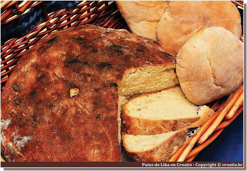 pain de lika en croatie