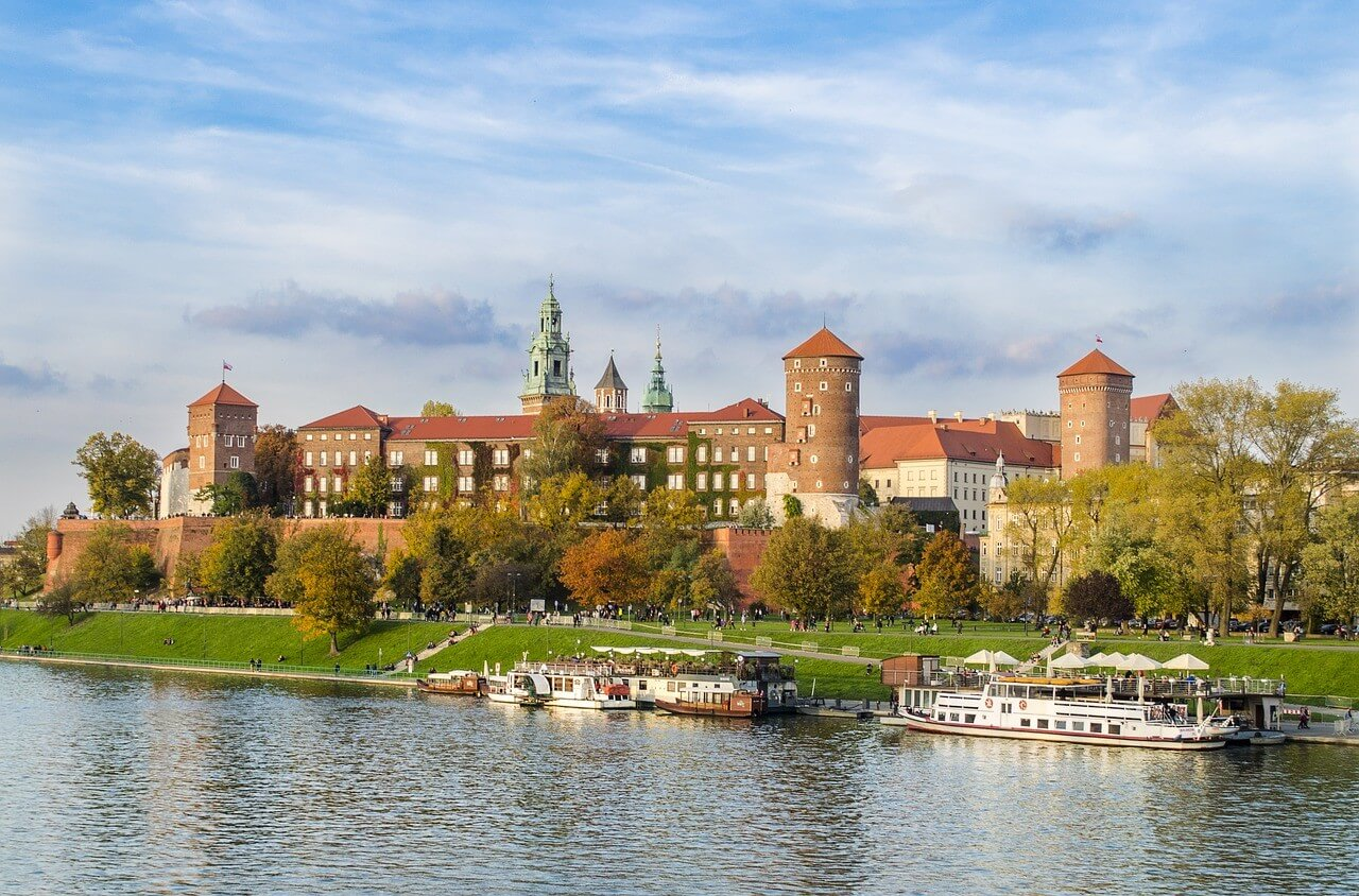 Krakow ancien chateau royal Wawel