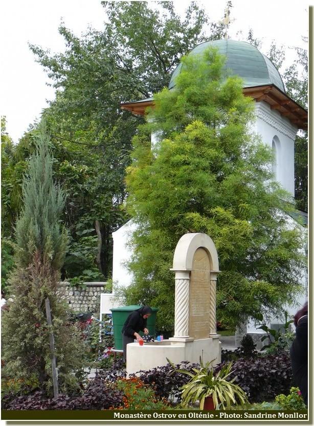 Monastère Ostrov fontaine