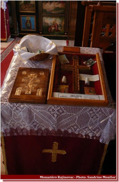 Monastere Rajinovac Croix