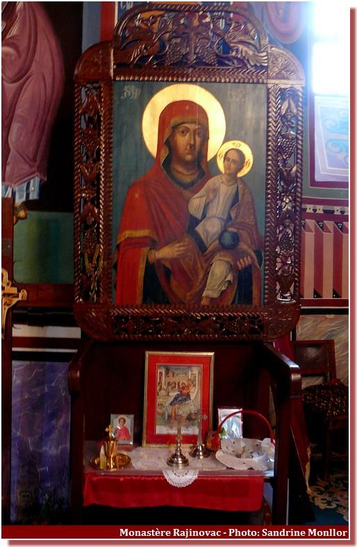 Monastere Rajinovac icone de la nativite