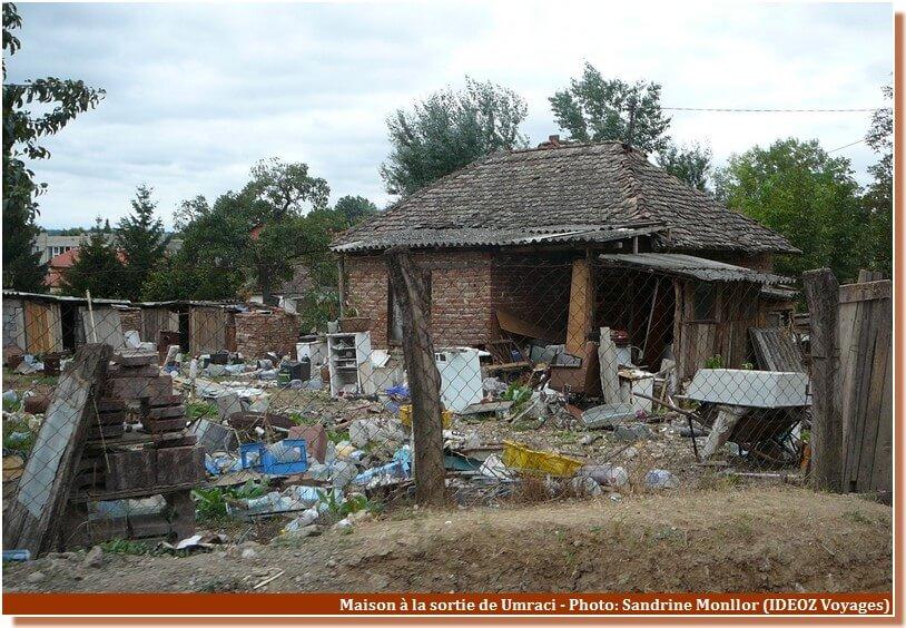 Serbie tsigane vers Pozarevac