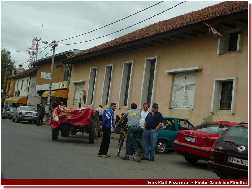 Vers mali Pozarevac en Serbie centrale