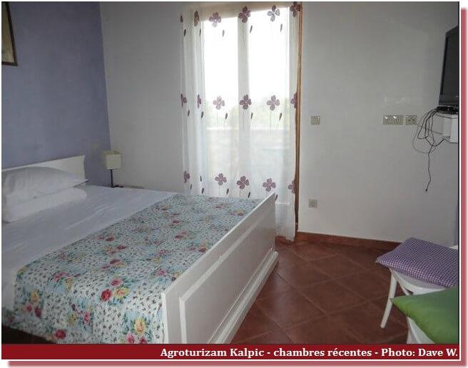 Chambre récente Agrotourisme Kalpic