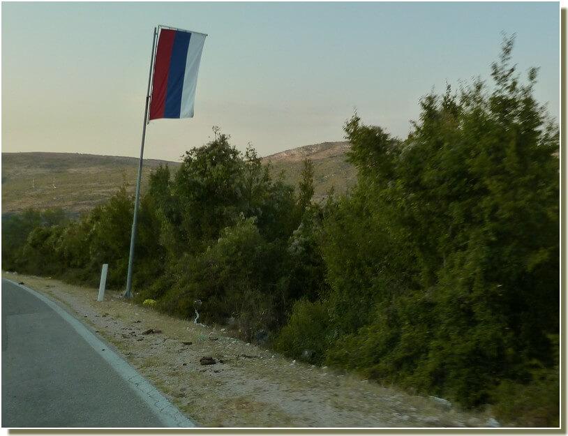 Drapeau de republika Srpska